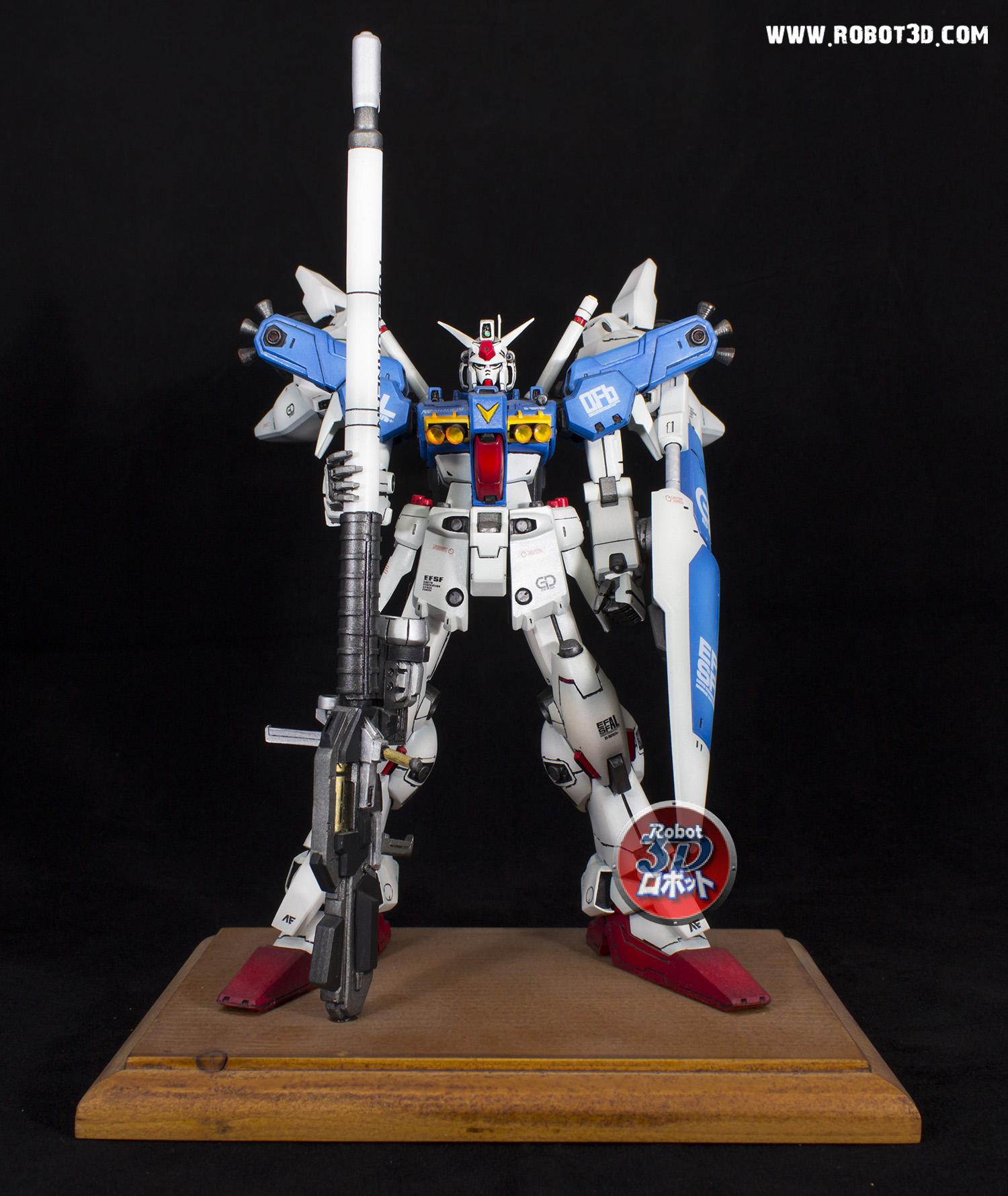 RX-78 Gundam GP01 Fb Zephyranthes