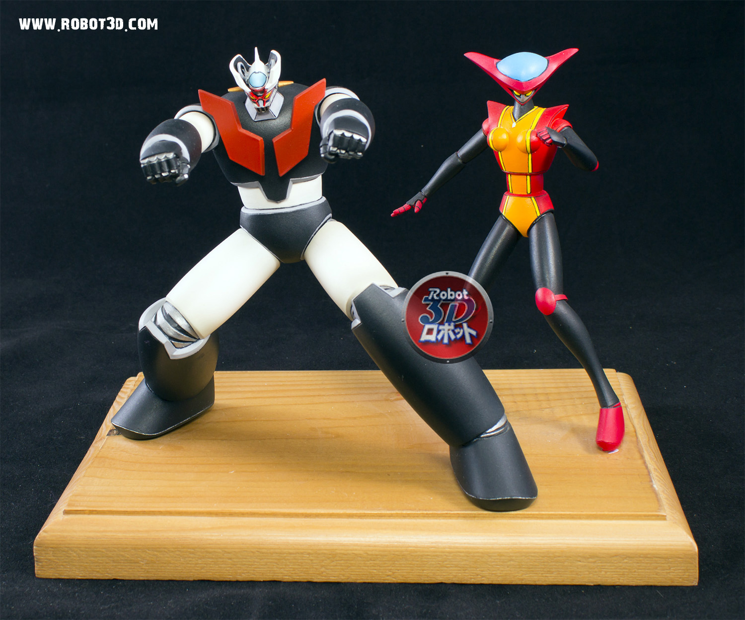Mazinger Z and Aphrodite A
